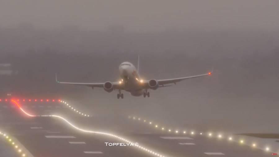 Cancelan en Europa cientos de vuelos por tormenta Ciara