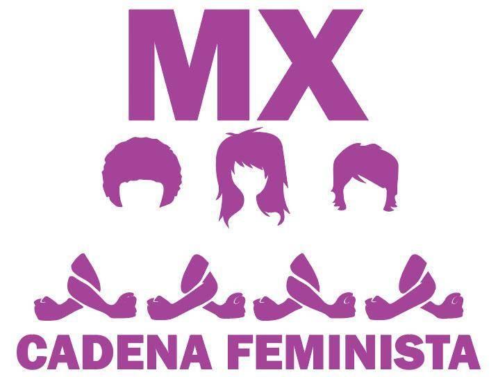 Convocan por redes a #CadenaFeministaMX