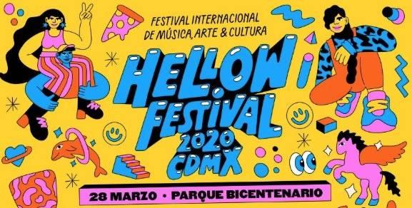 Listo el line-up del Hellow Fest CDMX 2020