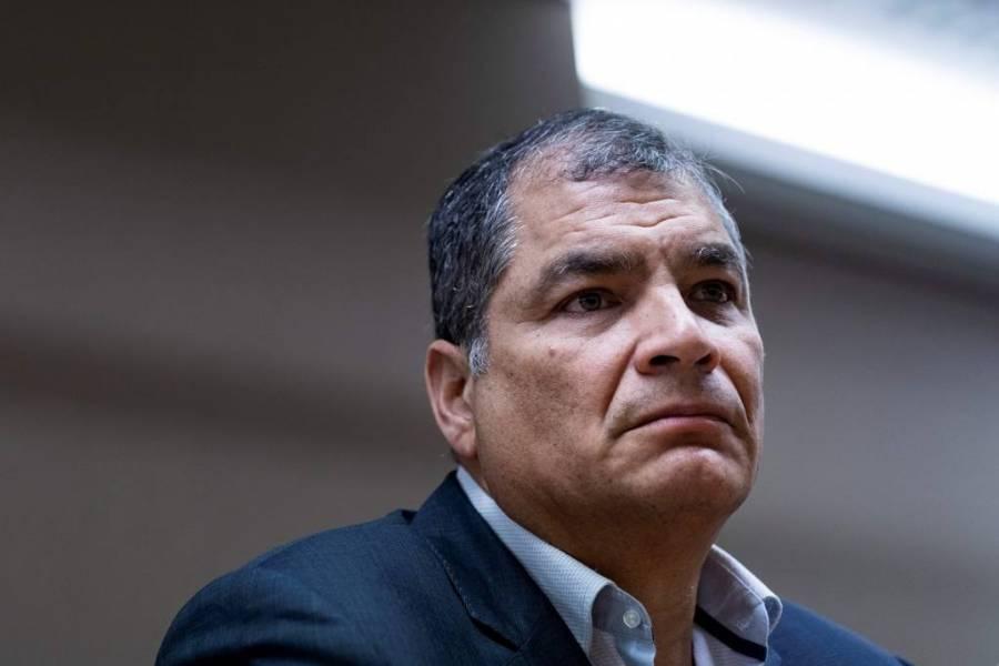 Inicia juicio contra el expresidente de Ecuador Rafael Correa