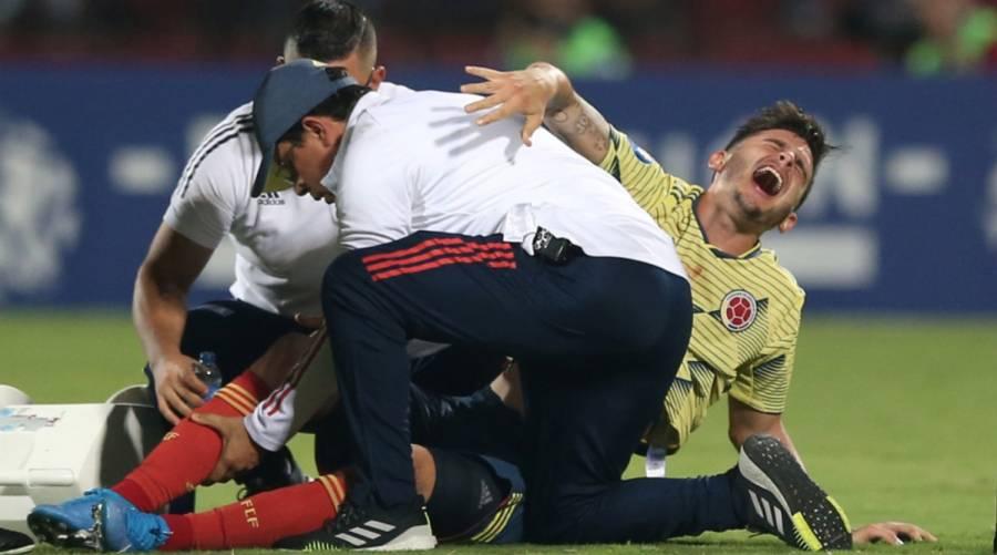 Benedetti se rompe en el preolímpico con Colombia