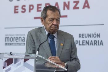 INM es el alma fea del gobierno: Muñoz Ledo