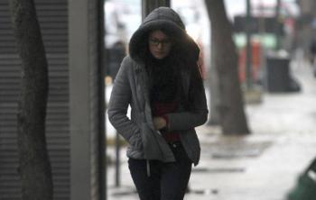 Pronostican nevadas y fuertes vientos en norte del país