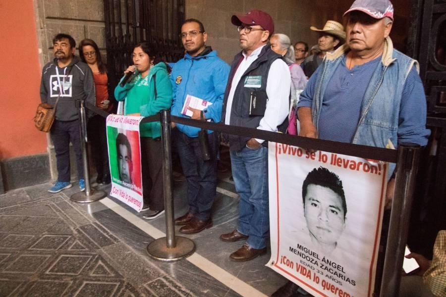 Asunto de Estado resolver caso Ayotzinapa, dice López Obrador