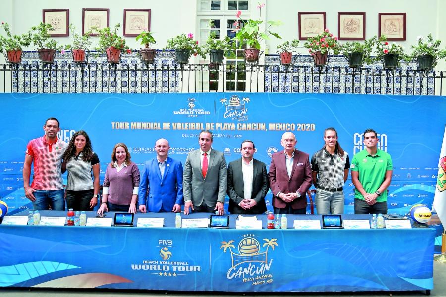 México busca contraseña olímpica en Mundial de Voleibol de Playa