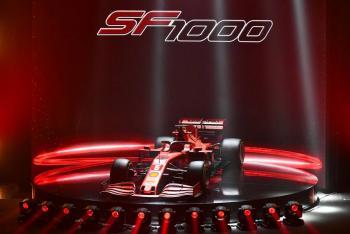 Ferrari presenta nuevo monoplaza para la F1 2020
