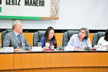 Diputadas y FGR alistan políticas contra la violenciade género