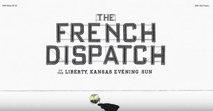 """Lanzan primer tráiler de """"The French Dispatch"""", nuevo filme de Wes Anderson"""