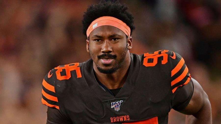 La NFL levanta suspensión a Myles Garrett de los Browns