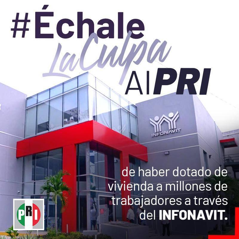 Genera críticas y burla en redes la campaña #ÉchaleLaCulpaAlPRI