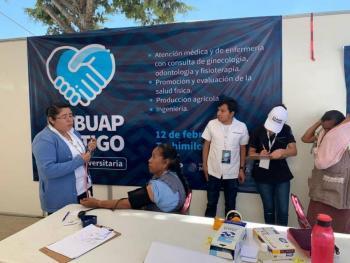 BUAP inicia jornadas de atención médica a comunidades marginadas