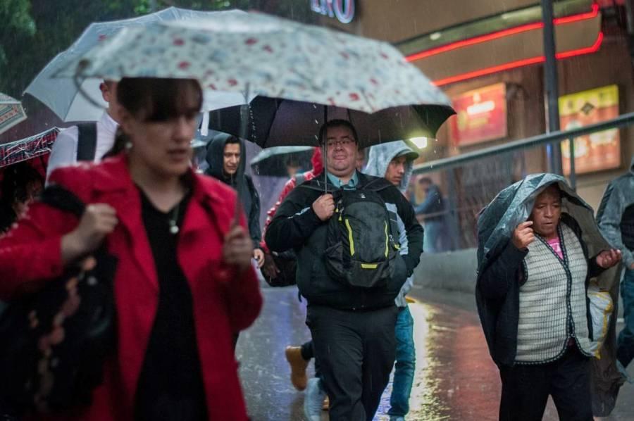 Prevén lluvias muy fuertes en Veracruz, Oaxaca y Tabasco