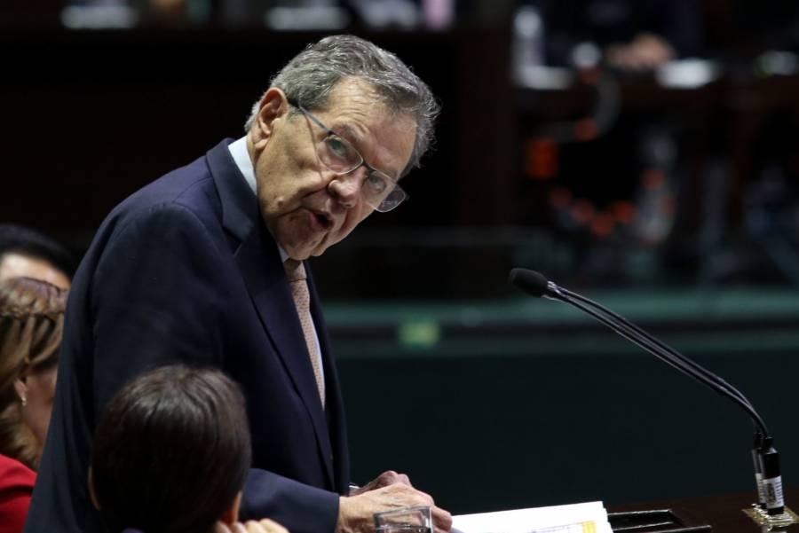 Acusa Muñoz Ledo a Mario Delgado de venganza administrativa