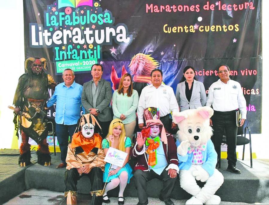 Carnaval de soledad celebra la literatura