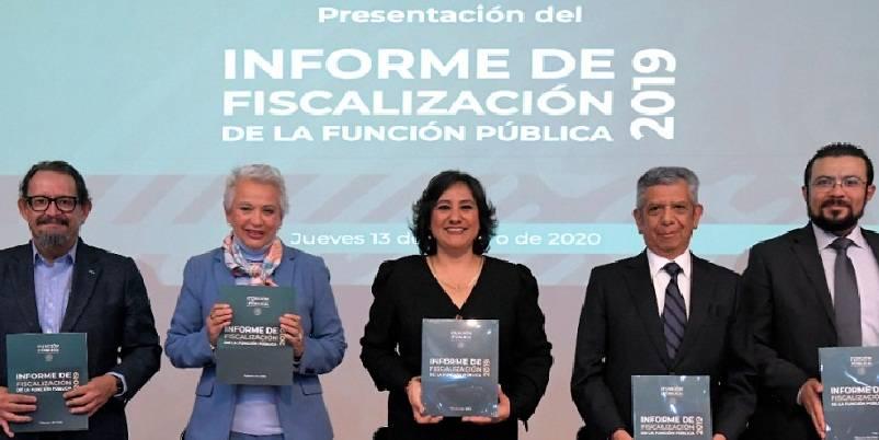 Irregularidades por más de 544 mil mdp en el gobierno de Peña: SFP