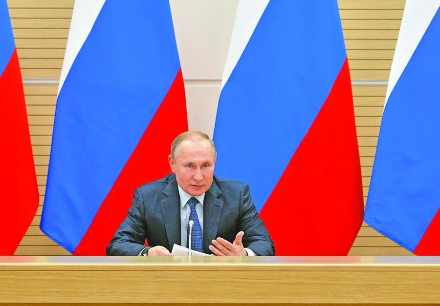 Mientras yo sea presidente, no habrá  matrimonio gay en Rusia: Putin