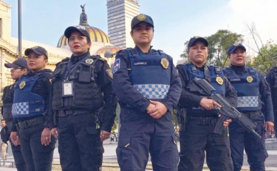 Alistan operativo por manifestaciones y festejos del 14 de febrero en CDMX