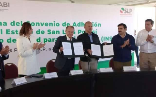 Confirma San Luis Potosí adhesión al Insabi