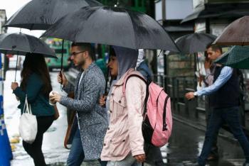 Pronostican lluvias muy fuertes en el sureste del país
