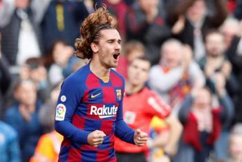 Griezmann y Sergi Roberto salvan al Barcelona frente del Getafe