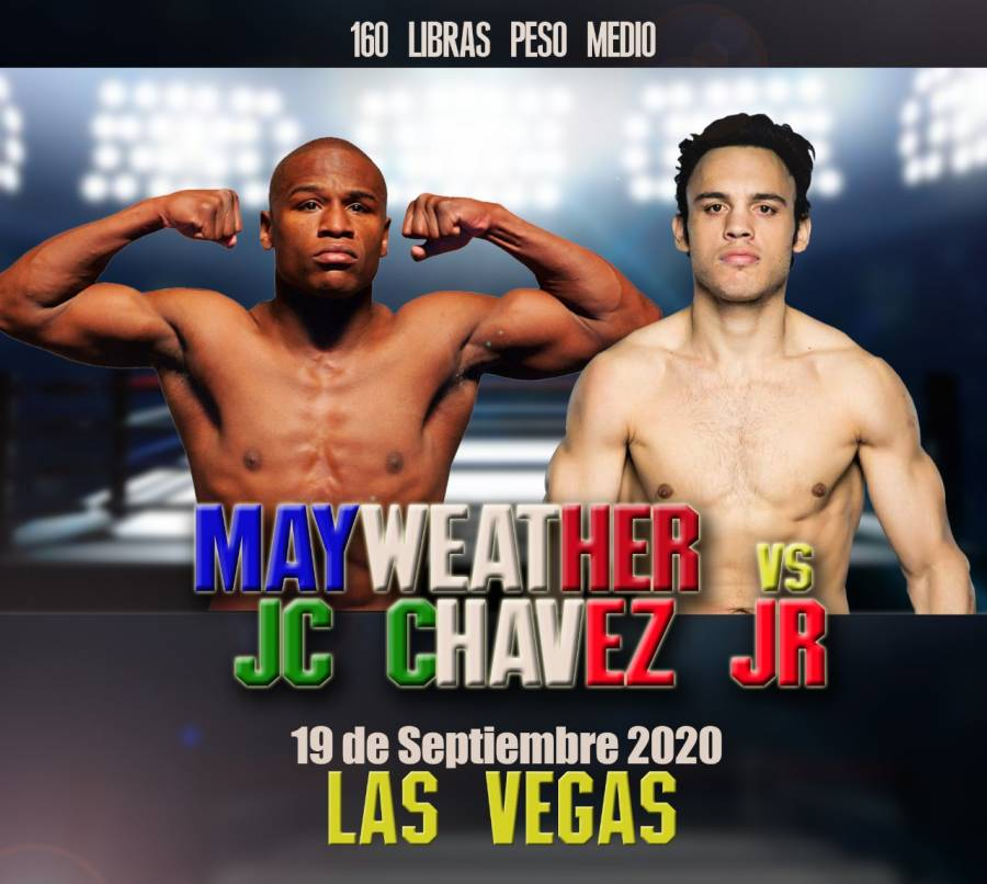 Julio César Chávez Jr. revela fecha para la pelea contra Mayweather
