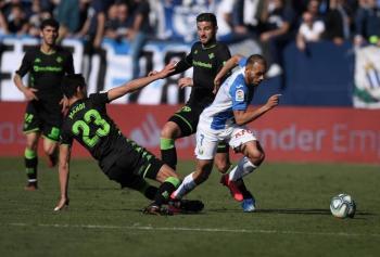 Sin Guardado ni Lainez, el Betis empata sin goles ante el Leganés de Javier Aguirre