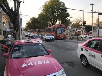 Ya se puede pedir taxi de CDMX desde tu celular