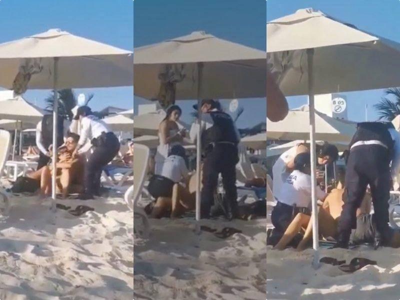 Por abuso de autoridad en Playa Mamitas en redes convocan a picnic