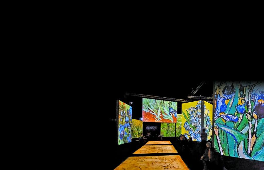 """""""Van Gogh Alive es una exposición de entretenimiento inteligente?"""
