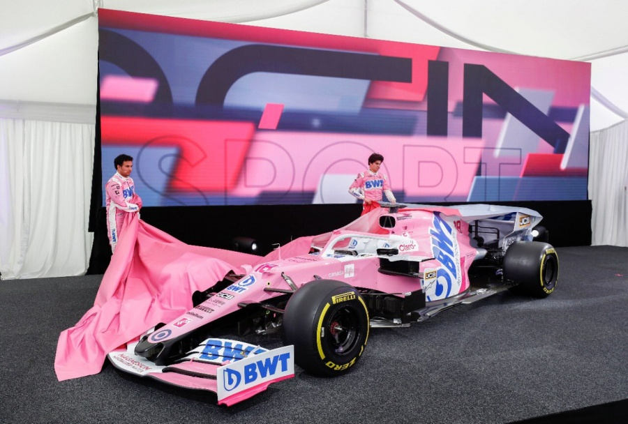 """Checo"" Pérez se reinventa con nuevo monoplaza para F1"