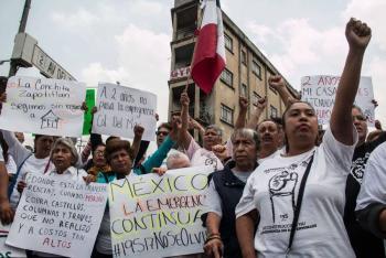 Damnificados de sismo exigen reactivar entrega de apoyo por renta