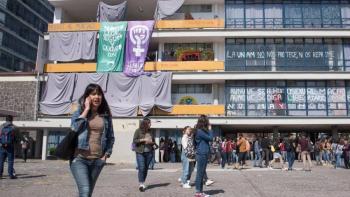 Ofrece Comisión de Legislación de UNAM reunión con mujeres organizadas de FFyL