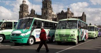 Realizarán megamarcha transportistas de la CDMX el miércoles