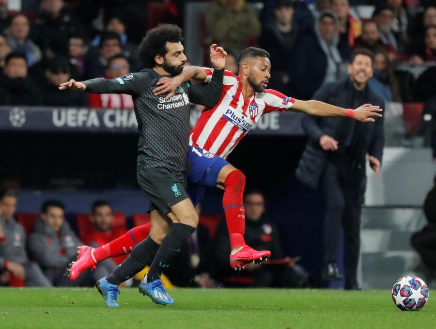 """Atleti"" resiste y saca corta ventaja ante Liverpool"