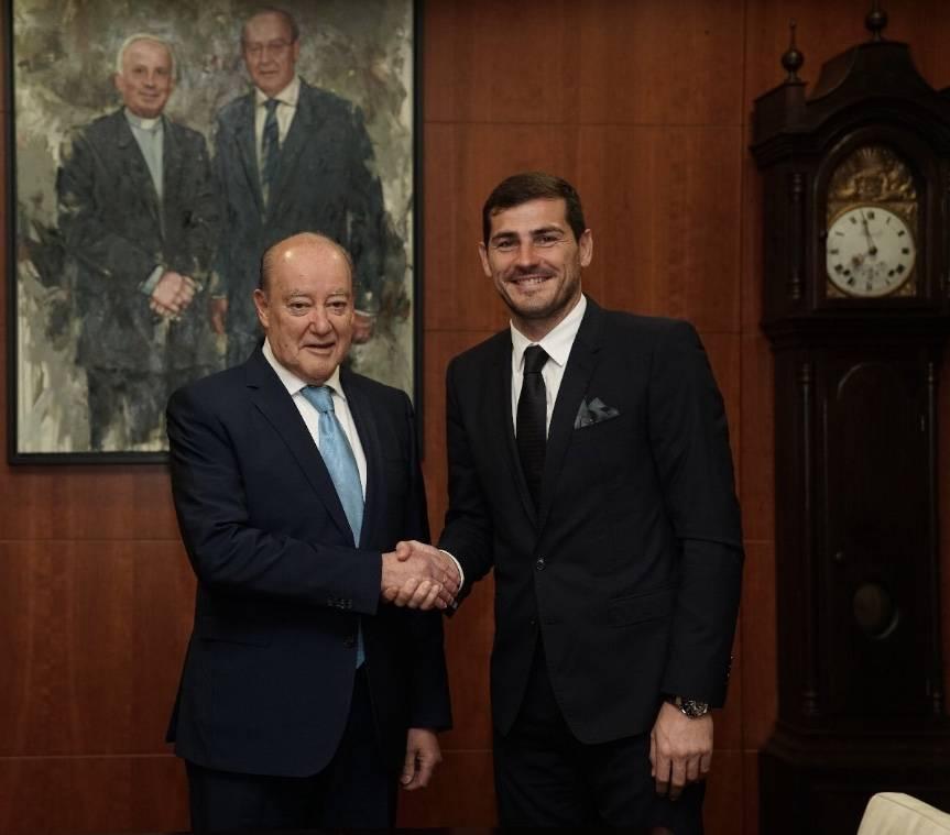 Presidente del Porto revela el retiro de Iker Casillas