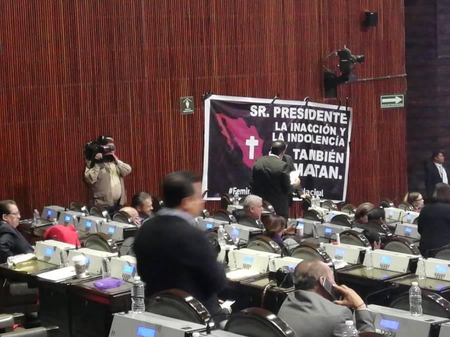 Diputados federales piden detener feminicidios
