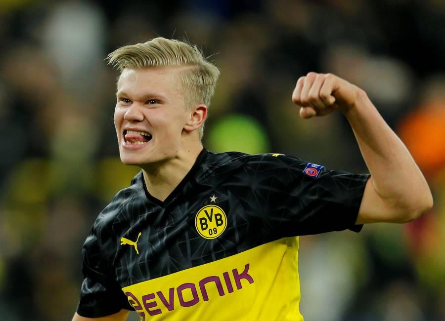 Haaland y el Dortmund ganan el primer asalto al PSG en la Champions