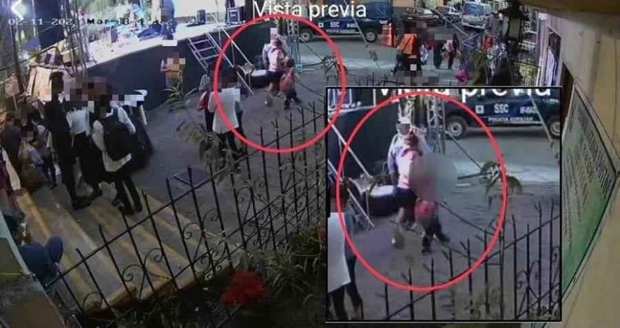 Se identifica presunta mujer que secuestró a Fátima; catean domicilio en Xochimilco