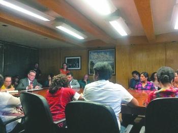 Suárez del Real promete sede y 17 mdp para la Orquesta Típica