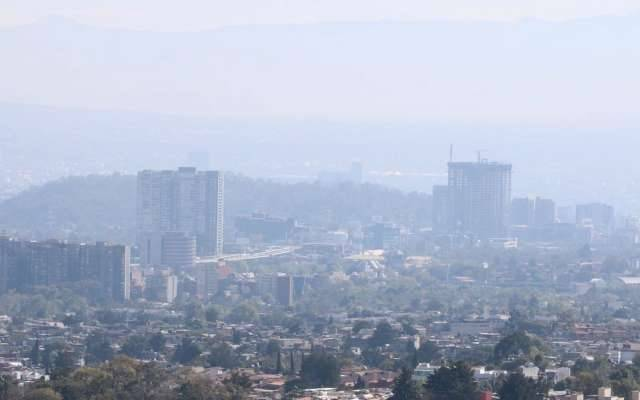 Se registra mala calidad del aire en la CDMX