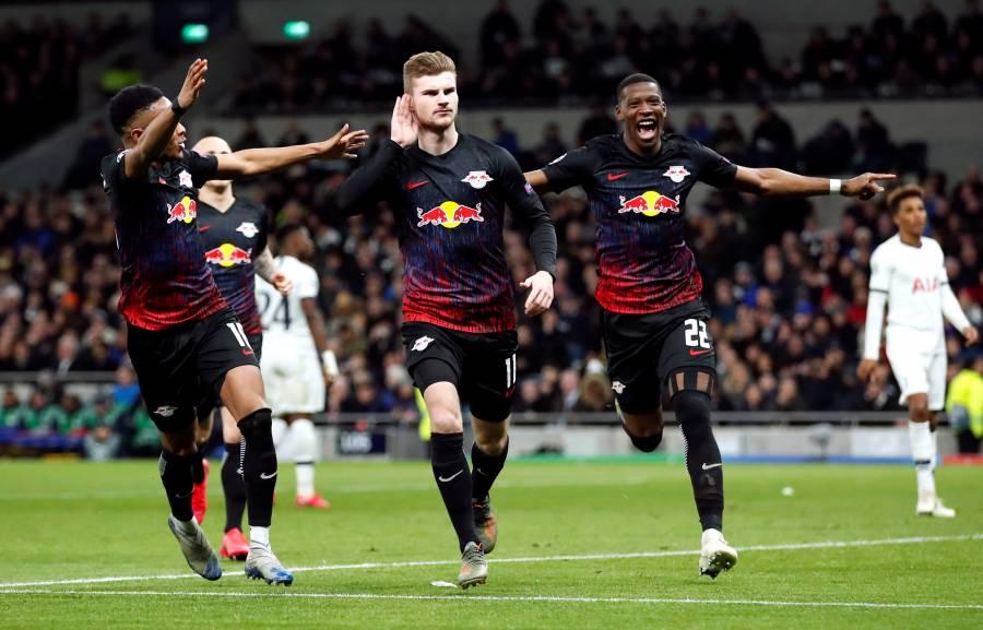 RB Leipzig se lleva la ventaja ante el Tottenham