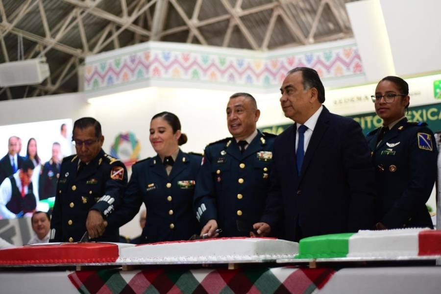 Ejército Mexicano, elemento sustantivo para la seguridad de Guerrero: Astudillo