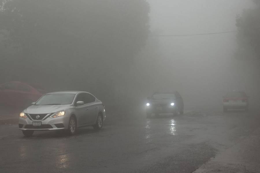 Cierran autopista Saltillo-Monterrey por neblina