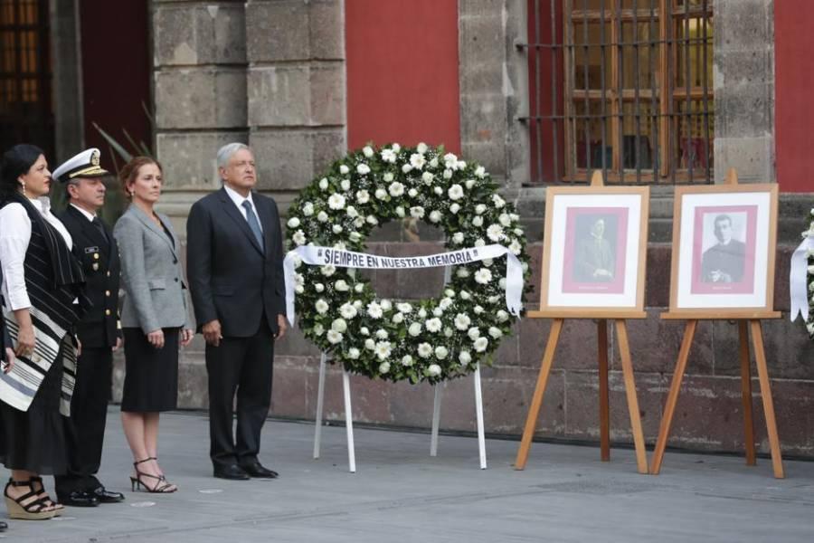 Evita AMLO pasaje histórico para no polarizar