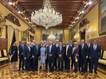 Empresarios extranjeros se comprometieron a invertir en México: AMLO