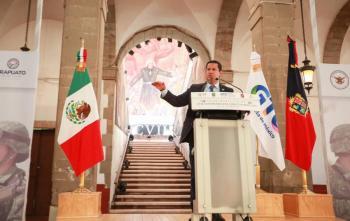 En Guanajuato las Fuerzas Armadas tienen todo nuestro respaldo: Rodríguez Vallejo
