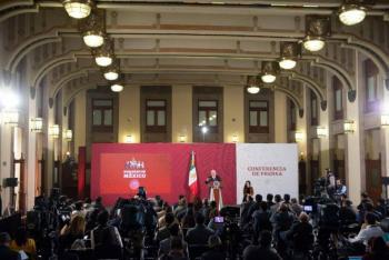 Descarta AMLO suspender mañaneras durante proceso electoral; no se dirimirán conflictos políticos en ellas