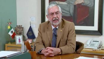 Rechazo absoluto a la intromisión en la vida universitaria: rector Enrique Graue