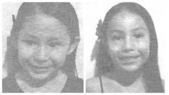Alerta Amber para localizar a Gabriella y Emily Shalom Valdez