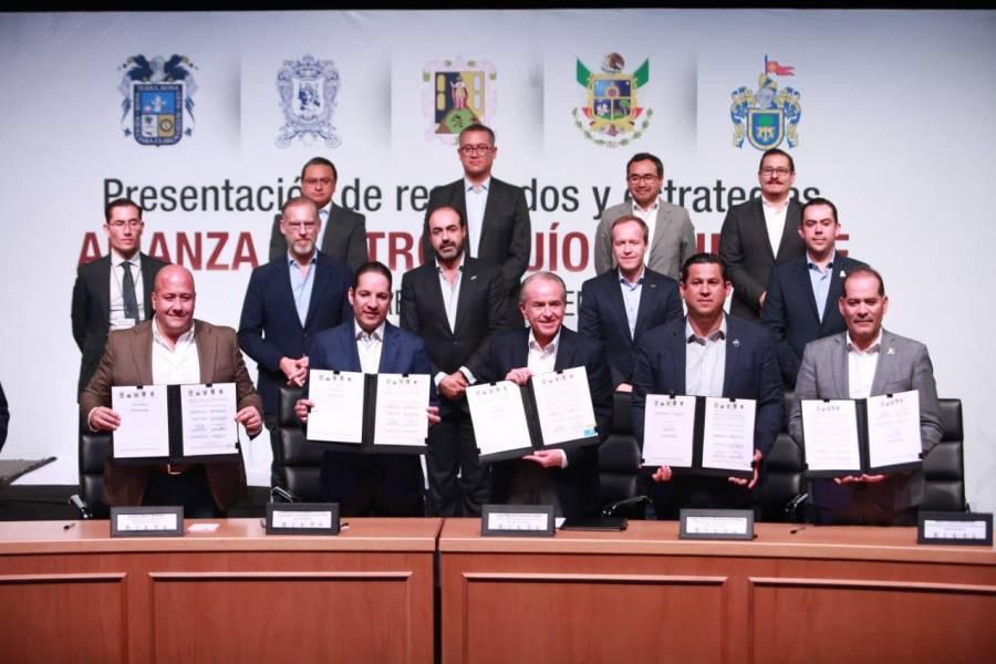 Integración jurídica de la Alianza Centro-Bajío-Occidente